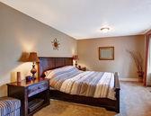 Bedroom with elegant furniture — Stock Photo