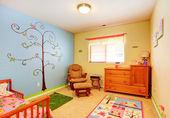 Cheerful nursery room interior — Stock Photo
