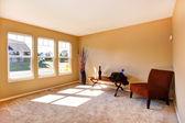 Oturma odası boş evde — Stok fotoğraf