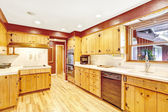 Contrast colors kitchen room  — Stok fotoğraf