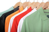 Polo shirts — Stock Photo
