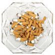 Royalty-Free Stock Photo: Ashtray with cigarette butts