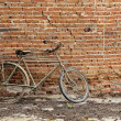 Vintage bike — Stock Photo