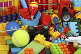 Colorful toys — Stock Photo
