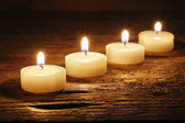 Burning candles — Stockfoto