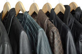 Leather jackets — Stockfoto