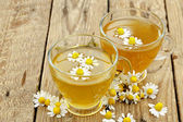 Cups of chamomile  — Stock Photo