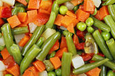 Mixed vegetables — Stockfoto