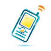 Mobile phone icon — Stock vektor