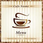 Plantilla para restaurante de menú, cafetería, bar, cafetería — Vector de stock