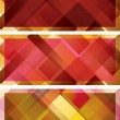 Abstract background, intersected rectangle — Векторная иллюстрация