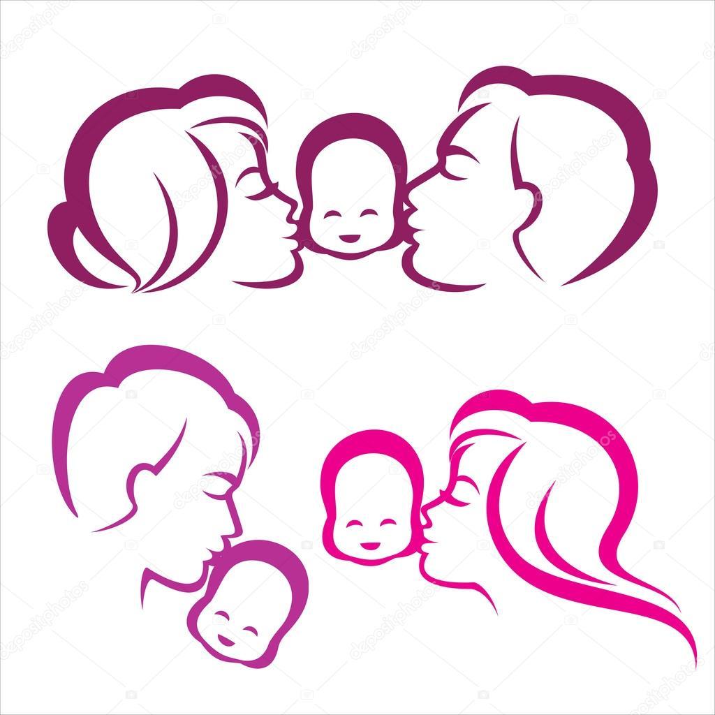 Family Symbol Silhouette