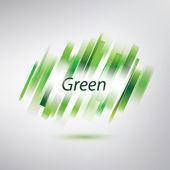 Streszczenie tło zielony, proste linie — Wektor stockowy