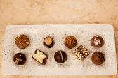 Gourmet Chocolates — Stock Photo