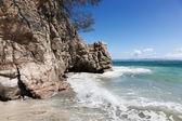 Rock and Ocean — Stock Photo