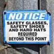 notice sign — Stock Photo