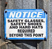 Notice Sign — Stock Photo