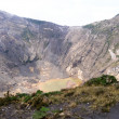 Irazu Volcano Crater — Stock Photo