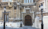 Houses of Parliament Entrance — Stock Photo