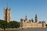 The Houses of Parliament and Big Ben — Stock Photo