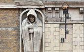 Hooded Monk Figure — Stock Photo