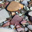 Stock Photo: Diverse River Rocks