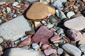 Diverse River Rocks — Stock Photo