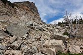 Diapositiva de boulder — Foto de Stock