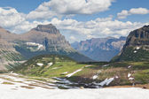 High Plateau with Snow — Stock Photo