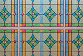 Stained Glass Window Pattern — Stock Photo