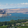 Columbia River Bridge — Stock Photo