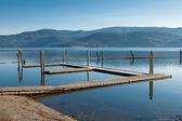 Empty Boat Dock — Stock Photo