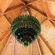 Old Bottle Chandelier — Stock Photo #26638755