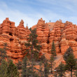 Red Canyon Utah — Stock Photo