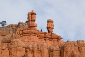 Sandstone Heads — Stock Photo