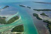 Vía subacuática — Foto de Stock