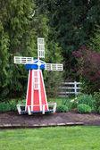 Windmill Garden Decoration — Stock Photo