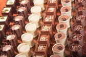 Artisan Chocolates — Stock Photo