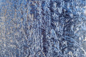 Frost Pattern Background — Stock Photo