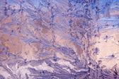 Frost Pattern Background — Stock Photo