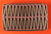 Matchbooks in a Box — Stock Photo