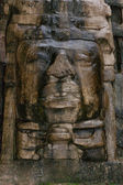 Olmec Style Mask — Stock Photo