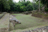 Jaguar Temple Courtyard — Stockfoto