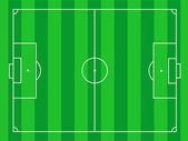 Soccerfield — Stock Vector