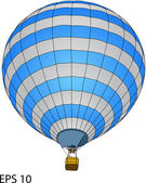 Hot Air Balloon Vector, EPS 10. — Stock Vector