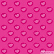 Love Heart Background for Valentine' Day Vector Illustration, EPS 10. — Stock Vector