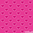 Love Heart Background for Valentine' Day Vector Illustration, EPS 10. - Vettoriali Stock
