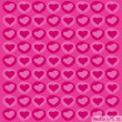 Love Heart Background for Valentine' Day Vector Illustration, EPS 10. — Stock vektor