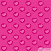 Love Heart Background for Valentine' Day Vector Illustration, EPS 10. — Vecteur