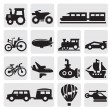 Vector transportation — Stock Vector